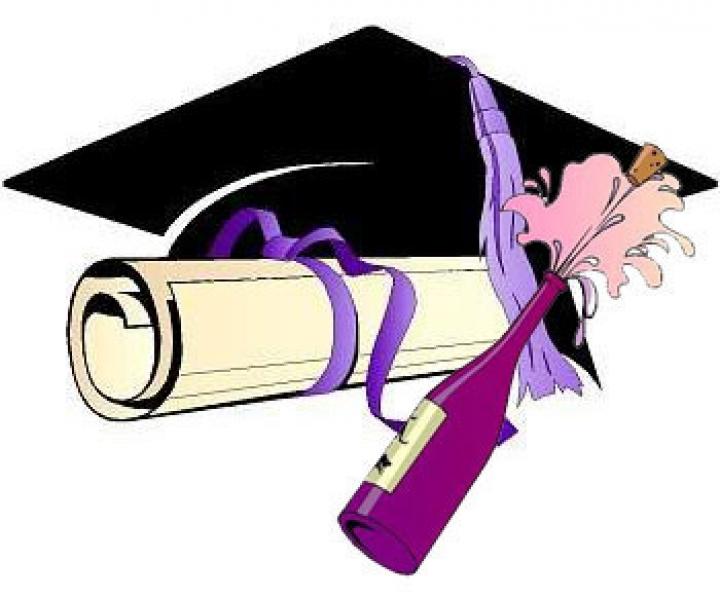 Открытка поздравление с окончанием университета