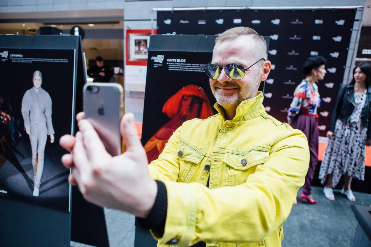 Латвийские дизайнеры открыли ретроспективную фотовыставку RIGA FASHION WEEK