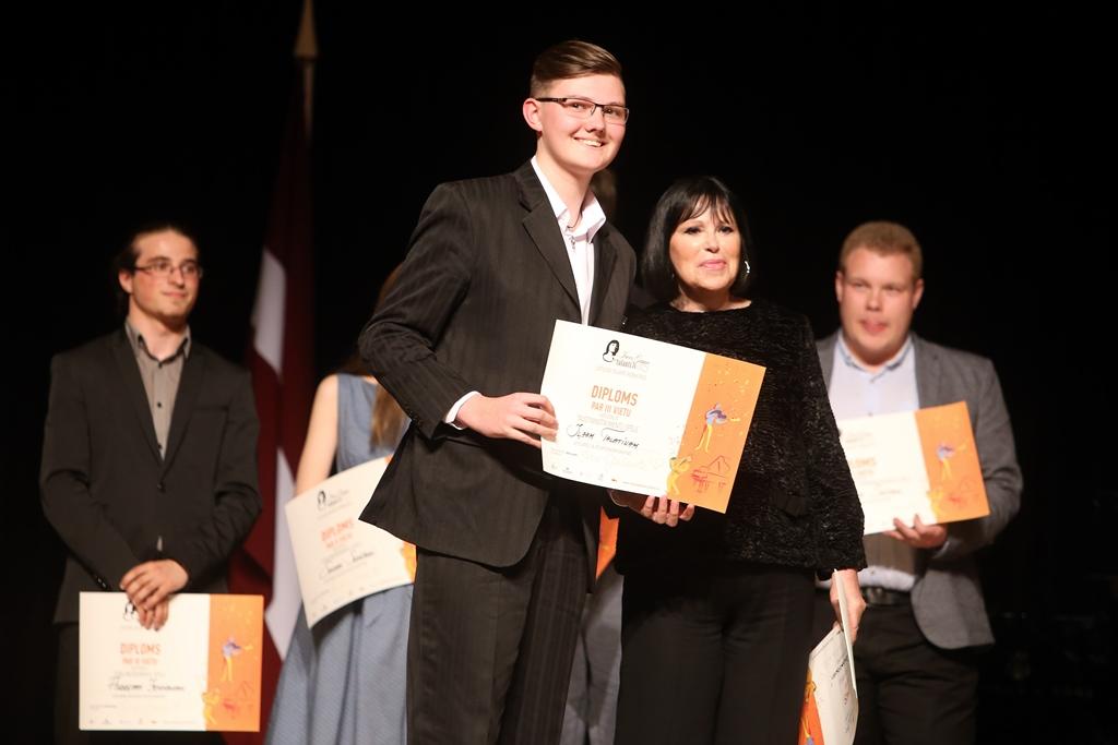 Финалисты конкурса «Таланты Инессы Галанте» будут состязаться в Латвийской национальной библиотеке