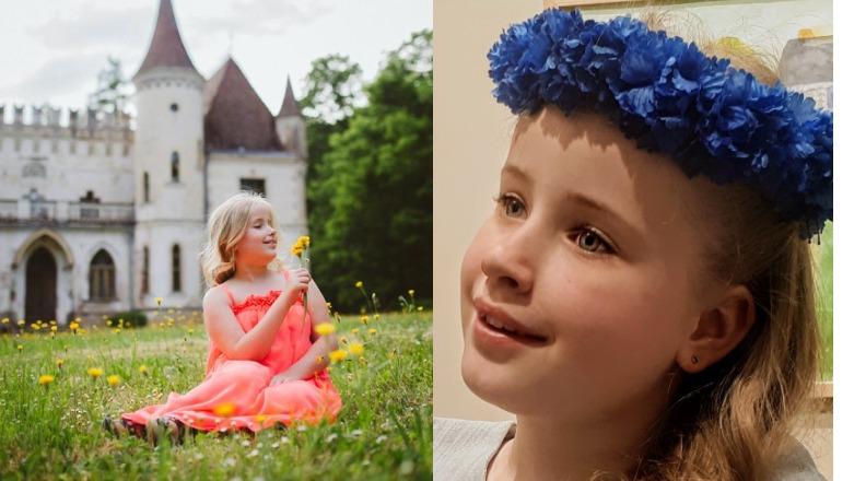 8 ступенек до счастья: фоторассказ о маленькой принцессе