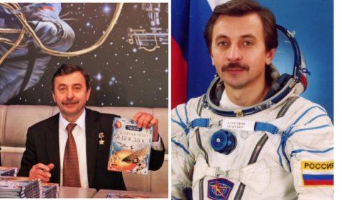 """Космонавт Лазуткин представит в Риге """"Космическую Одиссею"""""""