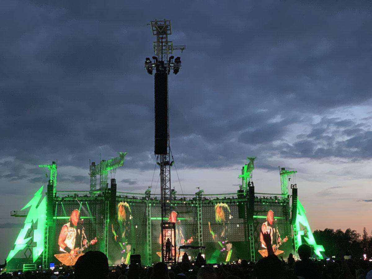 Побывали: В Тарту прошел концерт Metallica