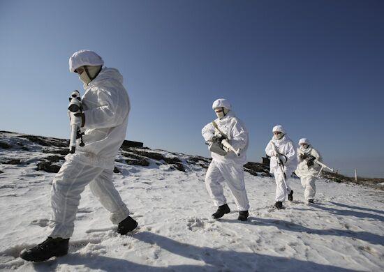 Какое задание натерритории Норвегии исполняет  русский  спецназ