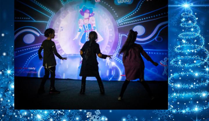 В Риге открылся виртуальный новогодний портал «Зимняя сказка»
