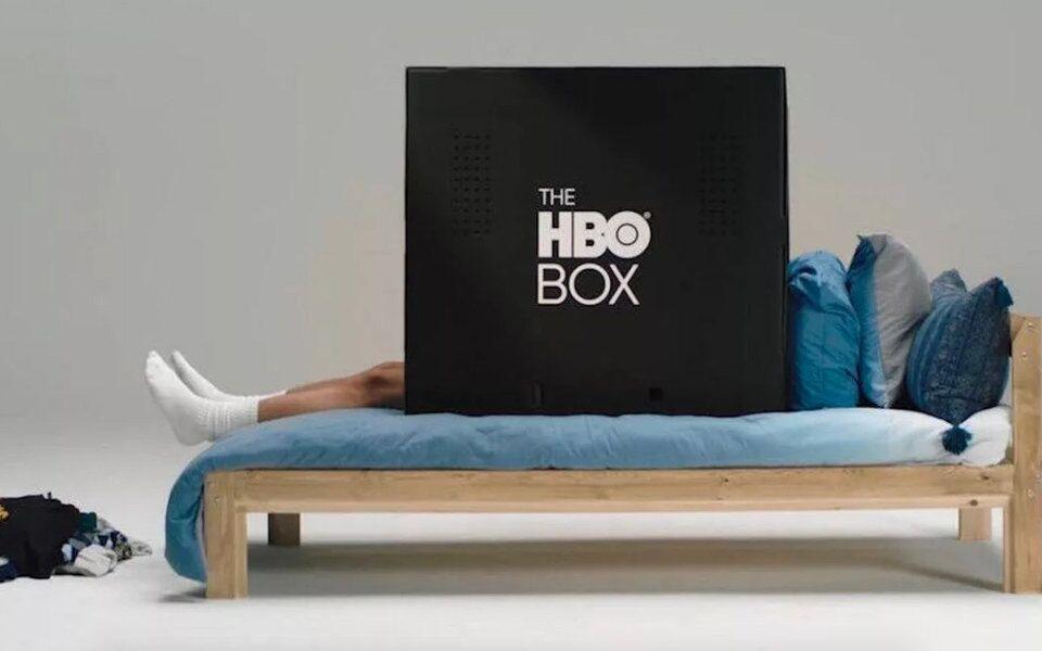 HBO представила картонную коробку The HBO Box, в которой можно уединиться для просмотра фильма или сериала