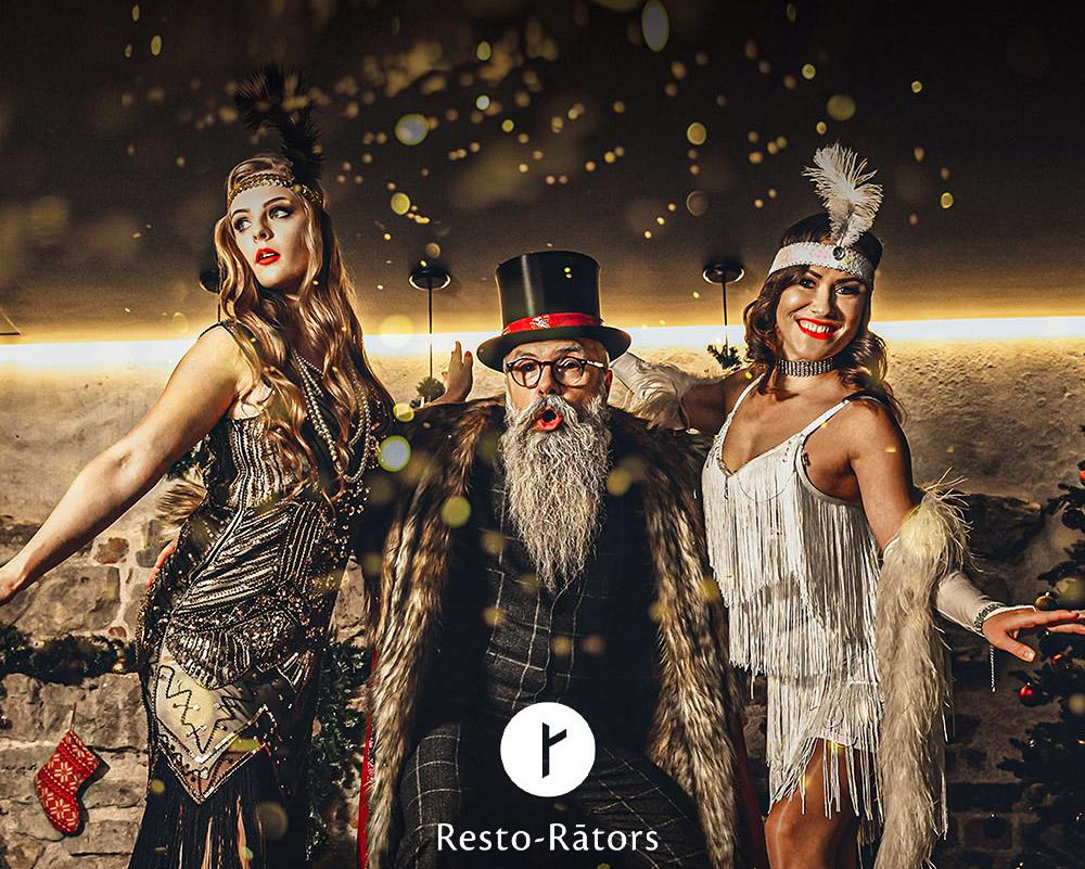 Афиша: Resto-Rātors приглашает на празднование Нового года – Speakeasy 2020!