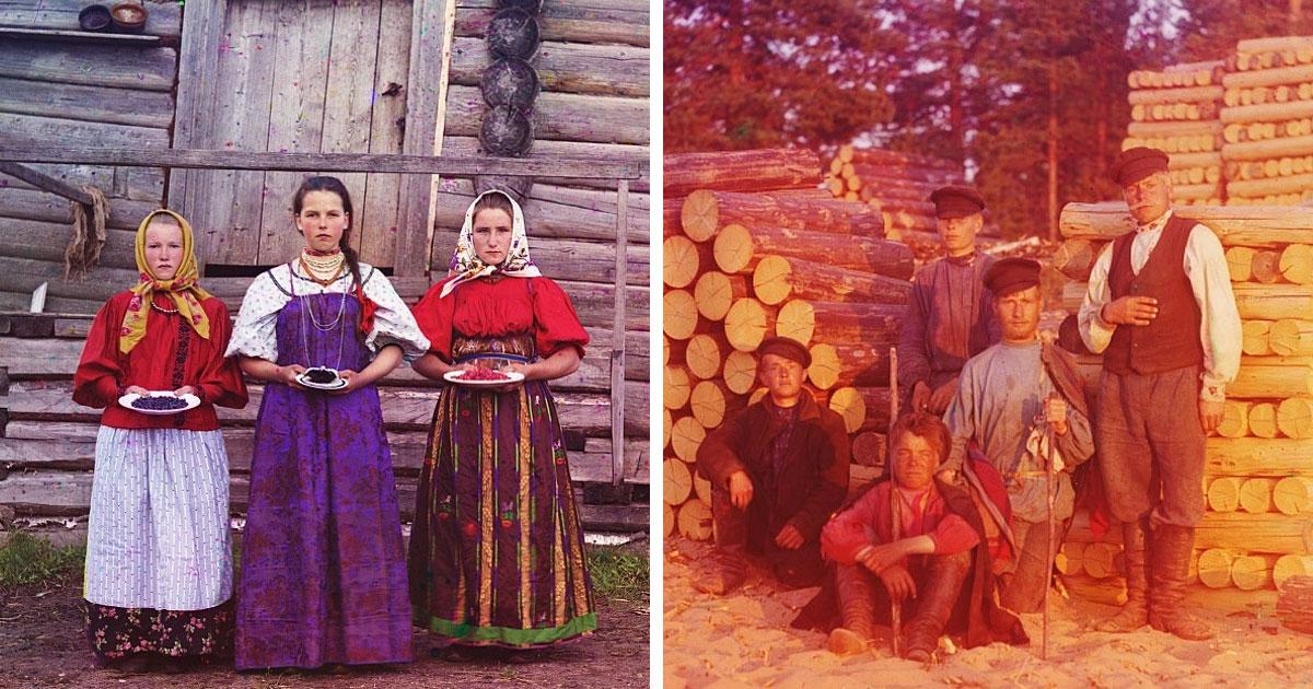 30 фото дореволюционной России, раскрывающих прошлое страны в красках