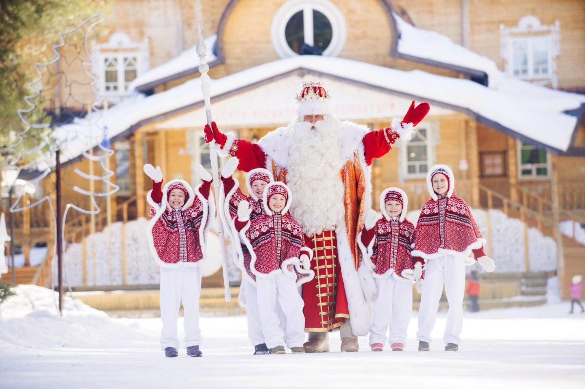 Афиша: Дед Мороз из Великого Устюга посетит Латвию
