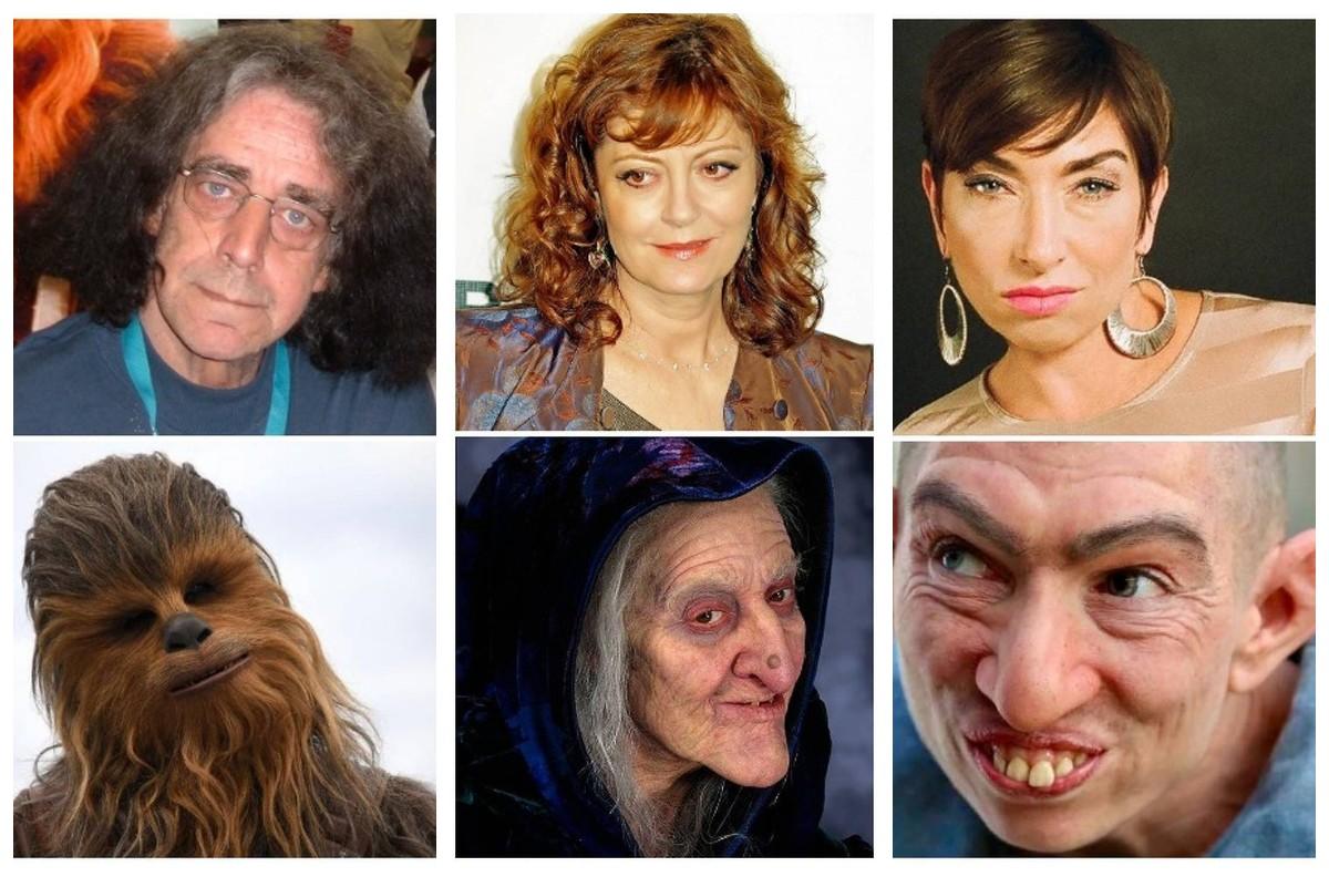 Нет предела фантазии гримера: удивительные трансформации актеров
