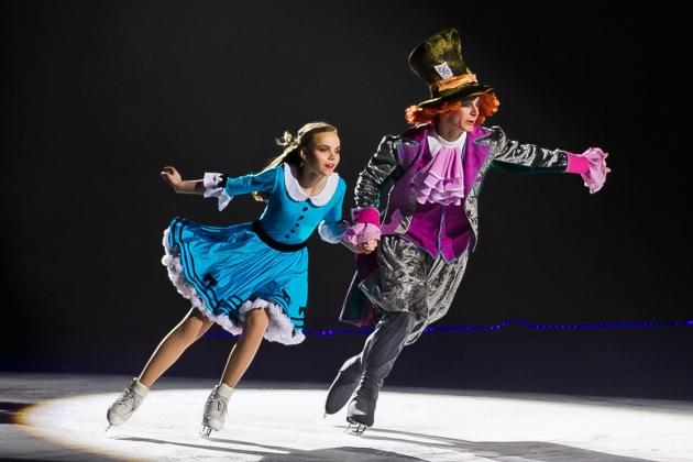 """В Риге пройдет ледовое шоу """"Алиса в Стране Чудес"""", а у нас для вас билеты"""