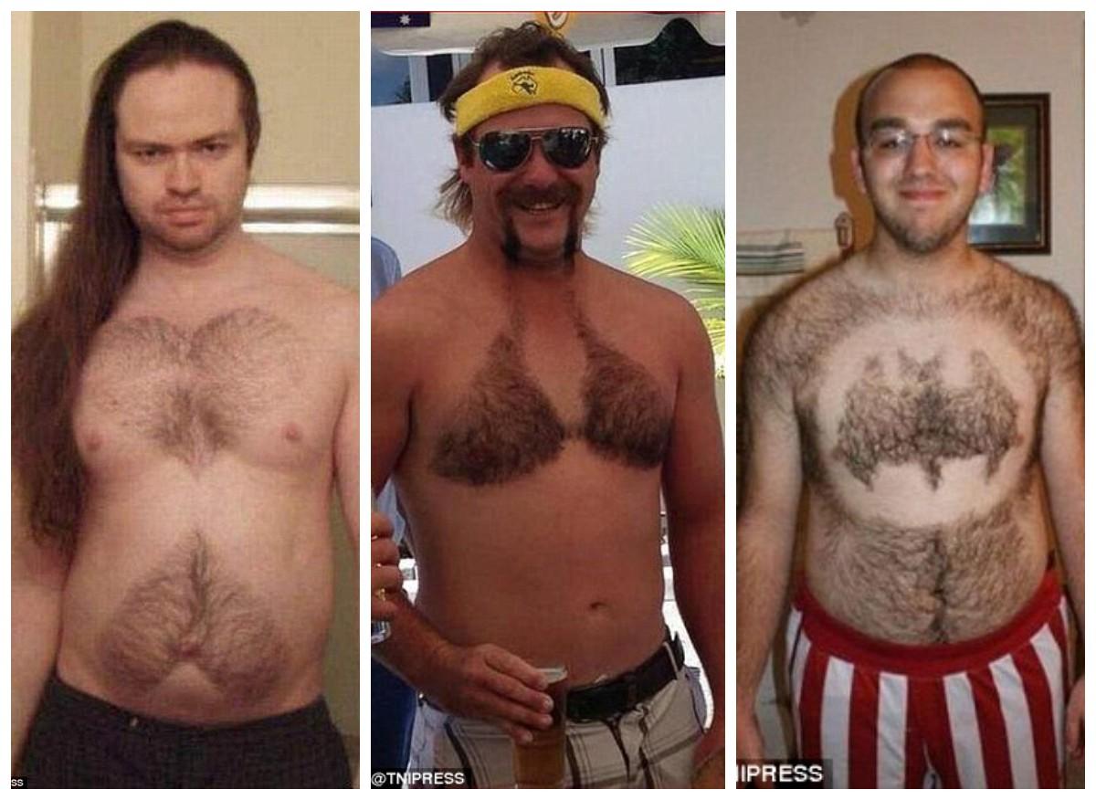 Против шерсти — что выстригают брутальные мужчины на волосатой груди