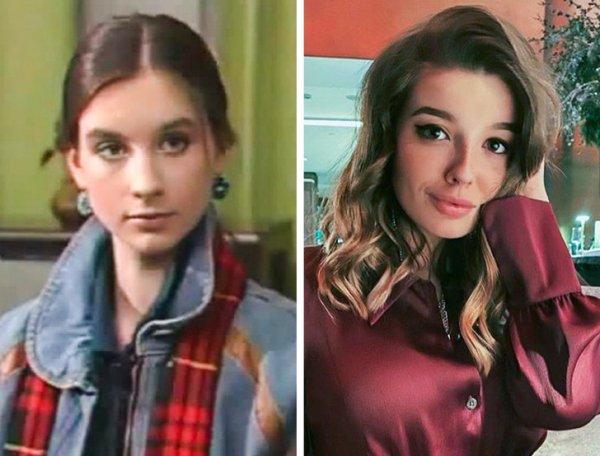 Как выглядели российские звезды,когда им было столько же лет,сколько своим детям. Смотрим. Сравниваем.