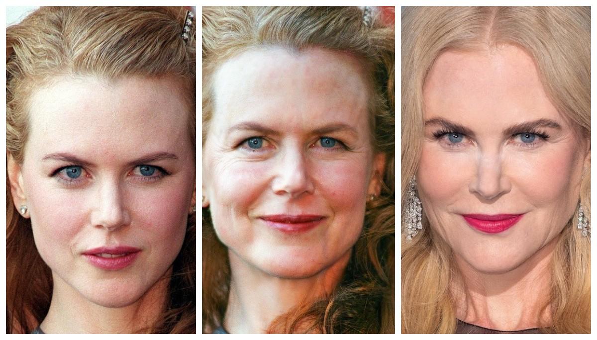 Пластический хирург показал как должны были выглядеть звезды в возрасте, если они постареют, как «обычные женщины»