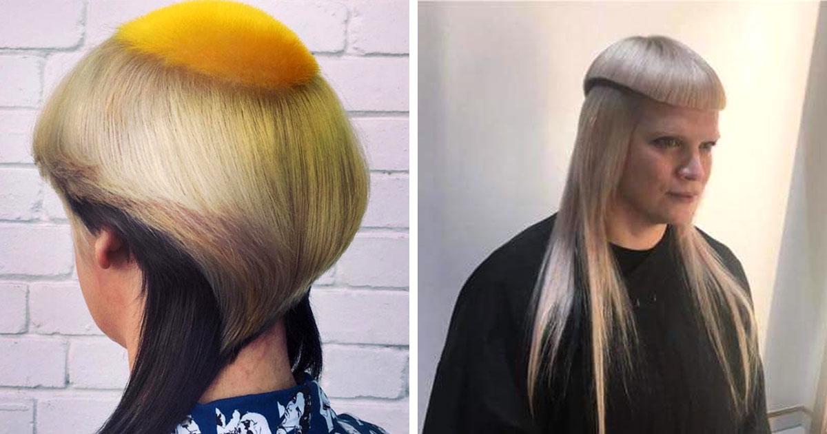 """19 странных состояний волос, которые их владельцы отчего-то именуют """"прическами"""""""