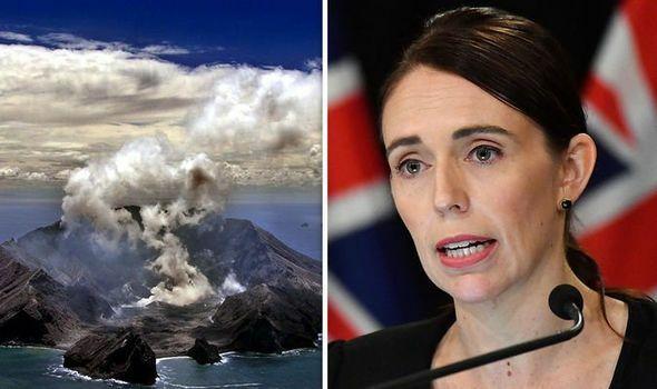 В Новой Зеландии произошло извержение вулкана