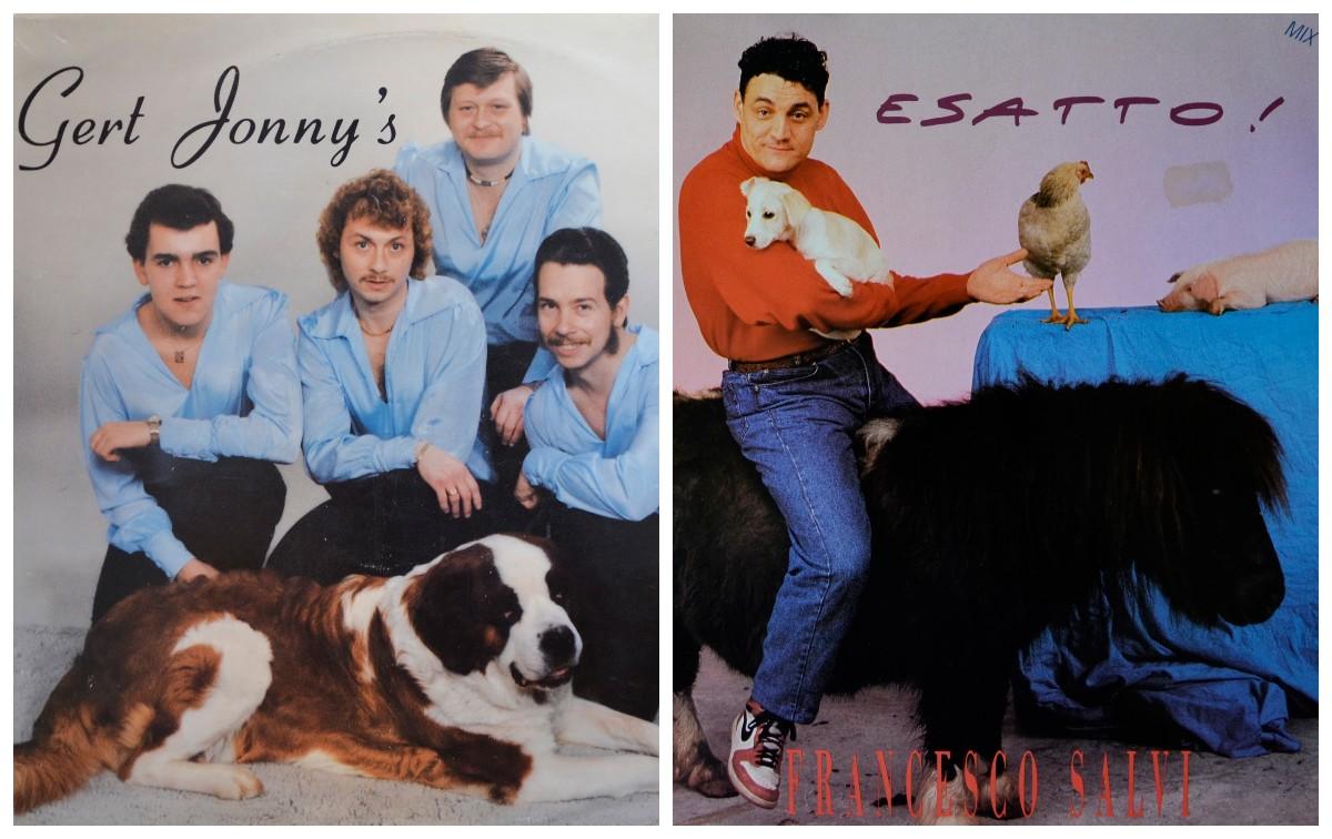 Ужасные обложки музыкальных альбомов, на которые зачем-то попали животные