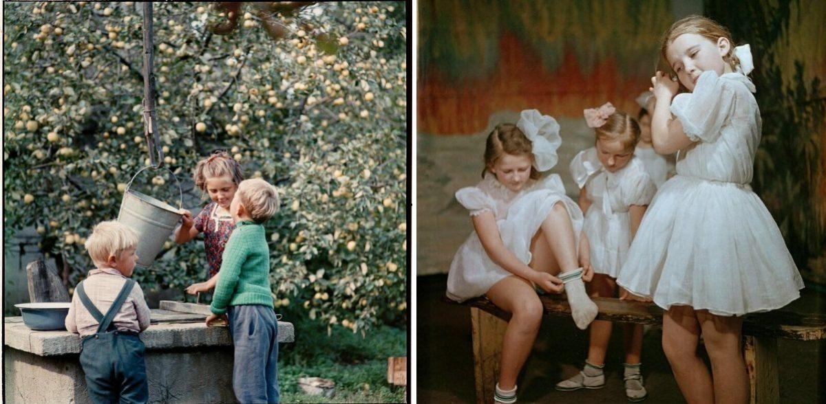 Просто счастливые дети 50-ых годов СССР