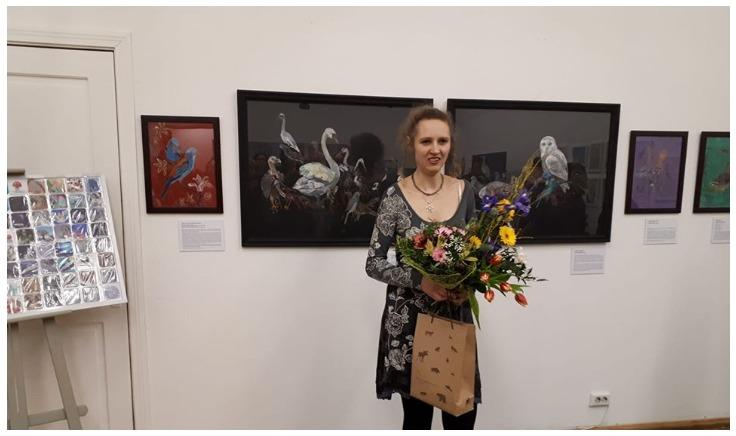 """""""Зеленая лампа"""": в  Музее природы открылась выставка Иевы Яундалдере"""