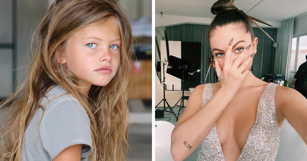 Эту девочку называли самой красивой в мире 10 лет назад. Сейчас ей 18, и ягодка созрела