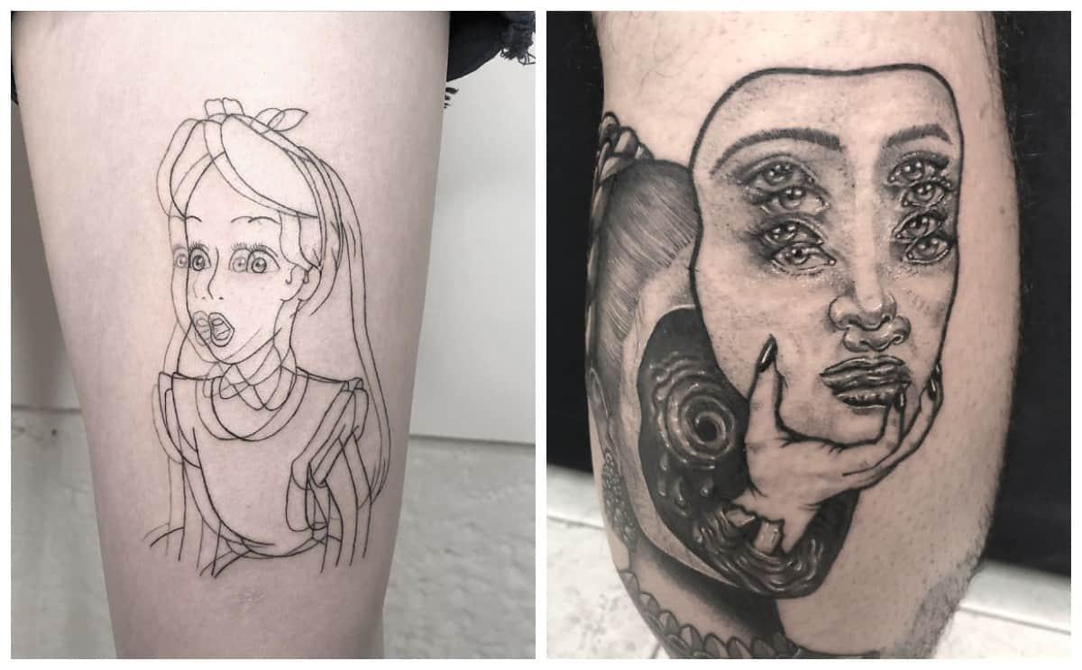 Художница делает татуировки, от которых глаза лезут на лоб! Дайте нам стереоскопические очки.