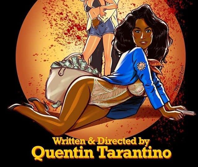 Девушки из фильмов Тарантино в стиле пинап (12 фото)