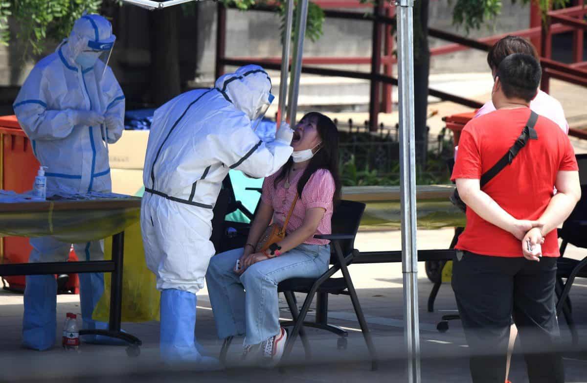 ВКитайской республике  засутки выявили 40 новых случаев заражения COVID-19