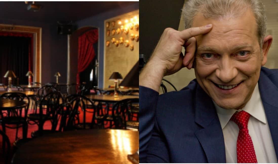 Юрий Кушпело приглашает провести вместе «Добрый вечер в клубе «Гамлет»