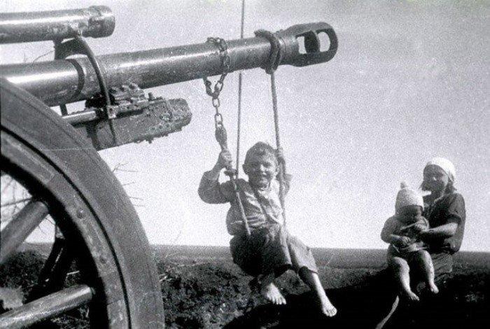 Дети времен Великой Отечественной войны (17 фото)