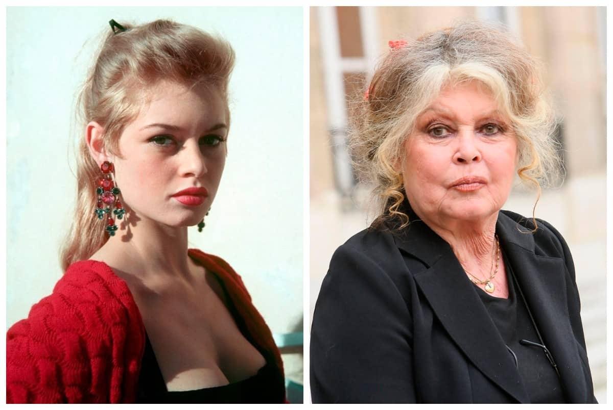 Как изменились наши любимые французские актрисы от первых ролей до наших дней