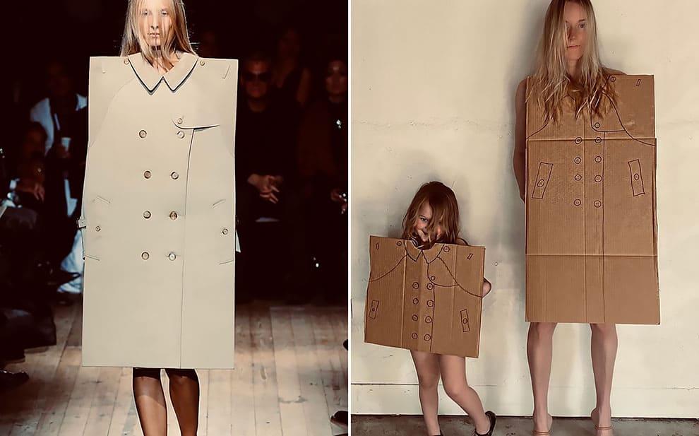 Люди воспроизводят высокую моду в домашних условиях. Получается круче оригинала!