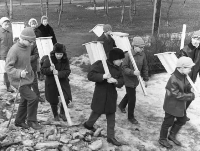 Фотографии времен СССР – окунемся в память (19 фото)