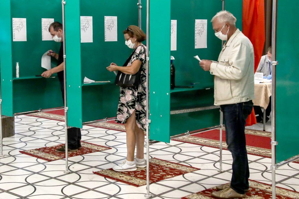 ЦИК Белоруссии опубликовал первые данные по президентским выборам