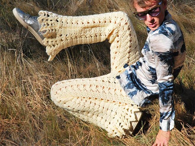 Вы думали хуже в 2020 уже не будет?! Встречайте – мужские вязаные штаны осень\зима