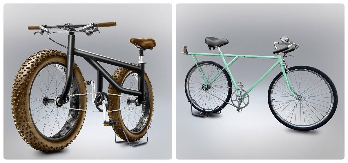 Велосипеды, построенные на основе попыток людей нарисовать их из памяти