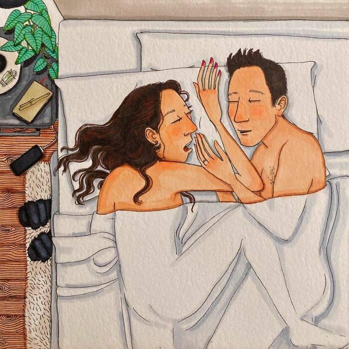 20 рисунков, иллюстрирующих скрытую сторону долгосрочных отношений