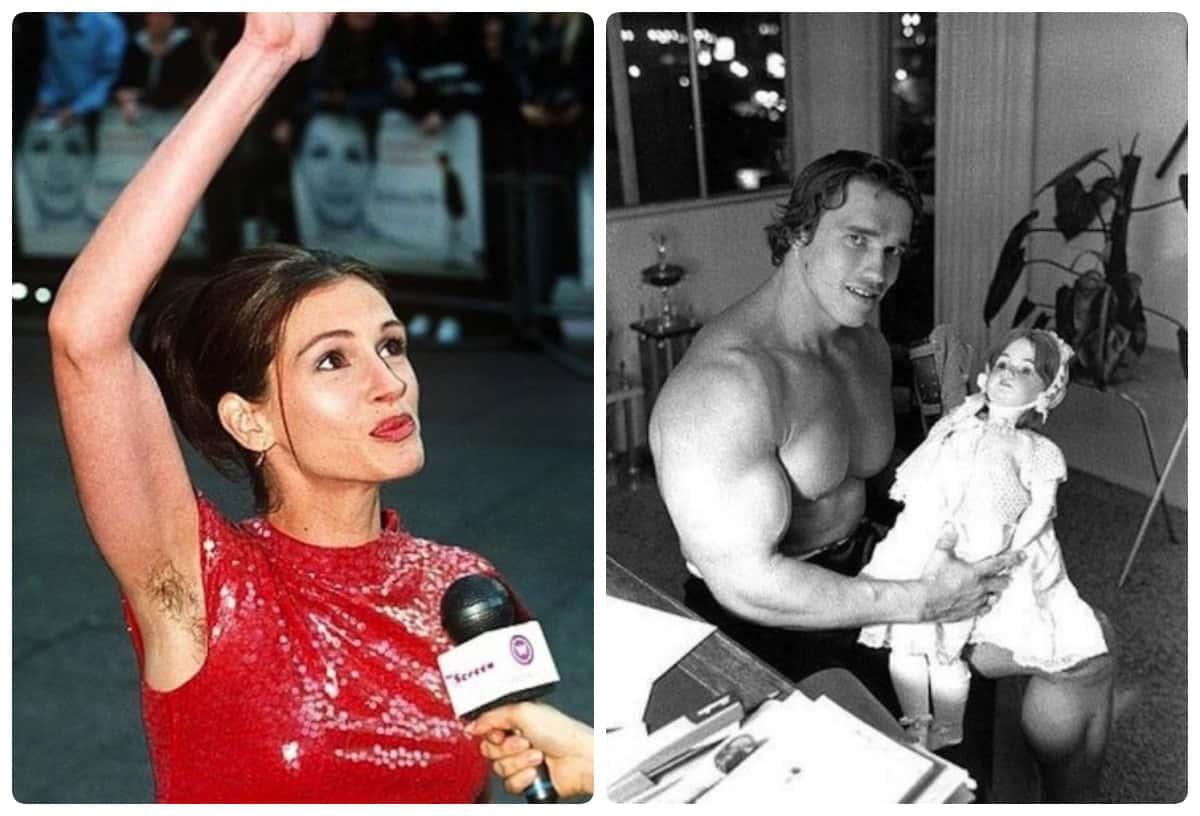 Странные фотографии знаменитостей, которые нуждаются в объяснении