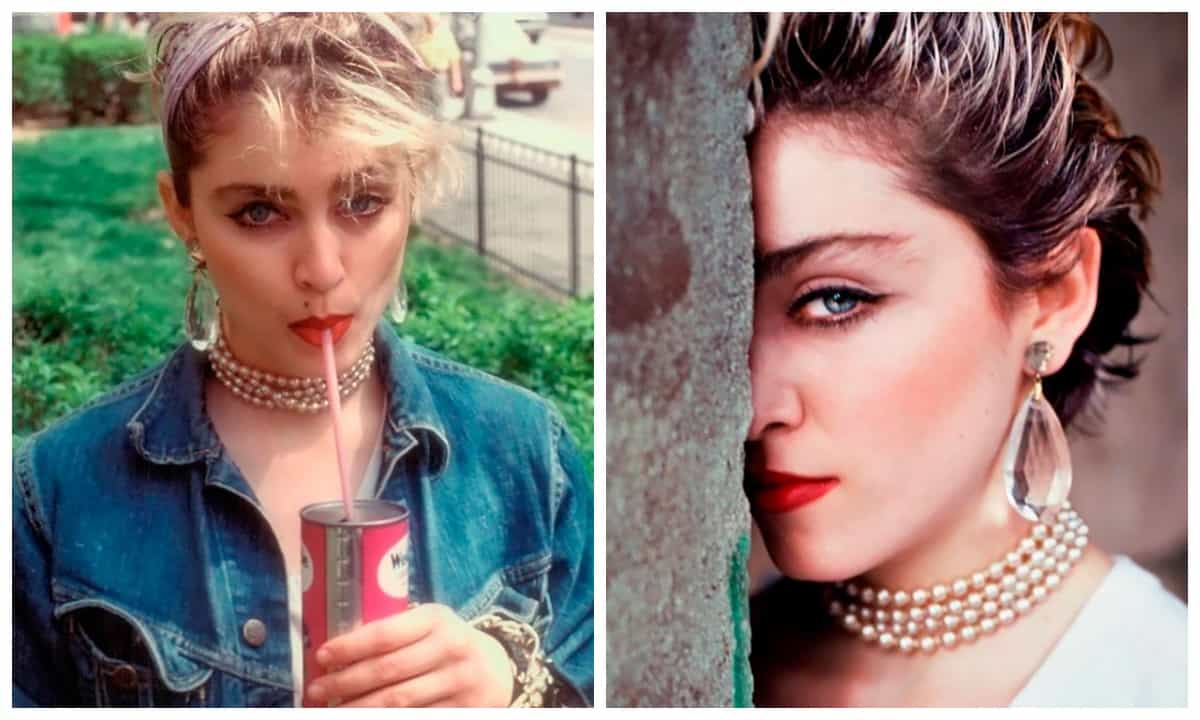 Необычный фотосет 24-летней Мадонны на пороге ее всемирной славы