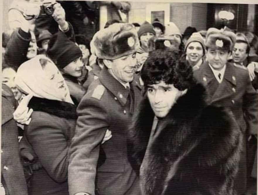 Maradona Moszkvában - 1990