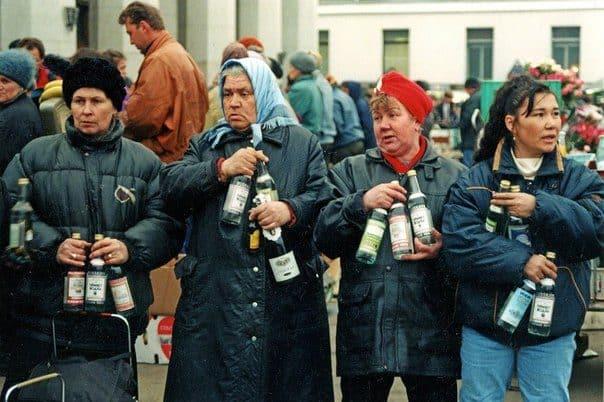Вся многогранность 90-х в 20-ти фотографиях