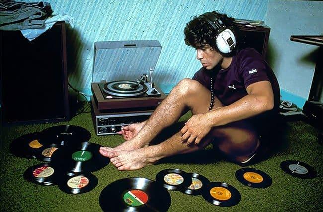 Редкие фотографии молодого Диего Марадоны 70-80-х годов