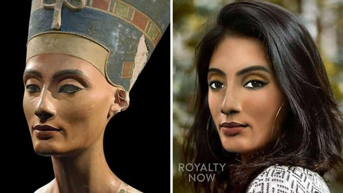 Как бы выглядели Нефертити, Бетховен и Роксолана, живи они в наше время