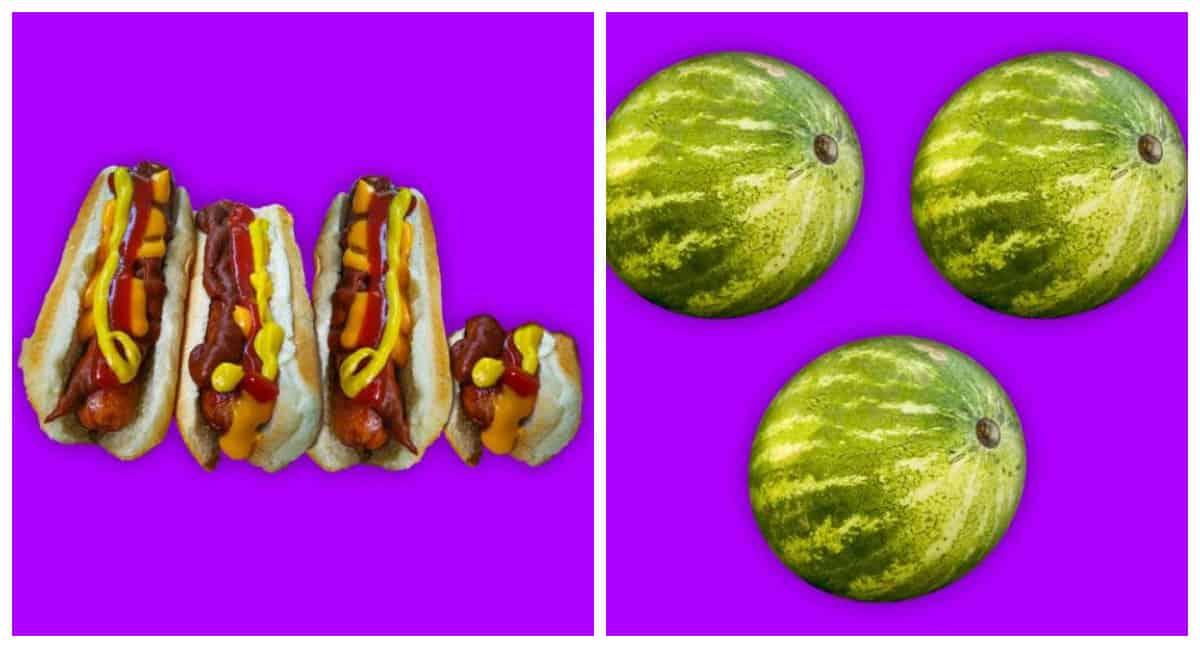 4 омлета и 3 арбуза: измеряем тысячу калорий разными продуктами