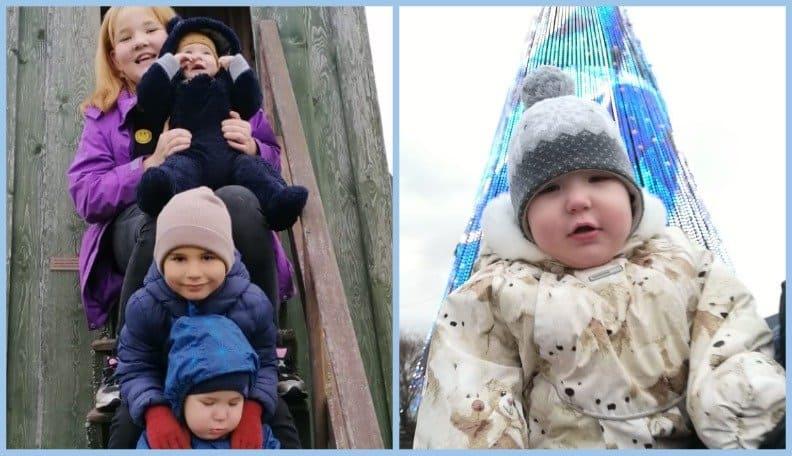 «Зеленая лампа»: маме четверых детей нужна помощь для лечения 2-летнего сына