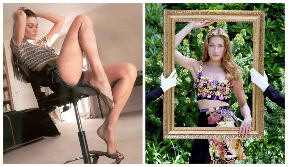 30+ фото юной Карлы Бруни времен ее модельного прошлого в 1980-е, теперь понятно почему в нее влюблялись Джаггер и Клэптон