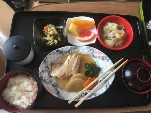Женщина показала, как ее кормили в японской больнице (12 фото)
