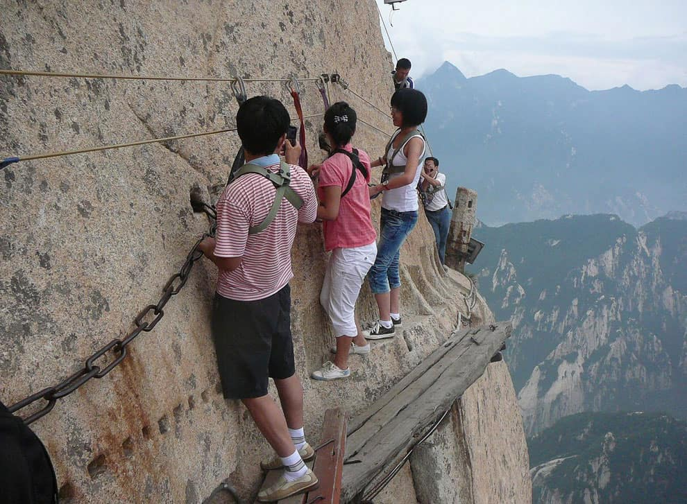 Тропа смерти в Китае (19 фото)