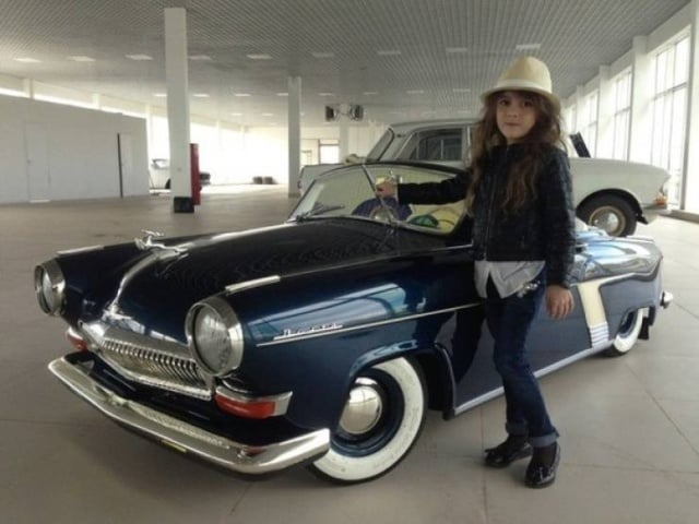 Дочка захотела автомобиль, папа сделал ей автомобиль (10 фото)