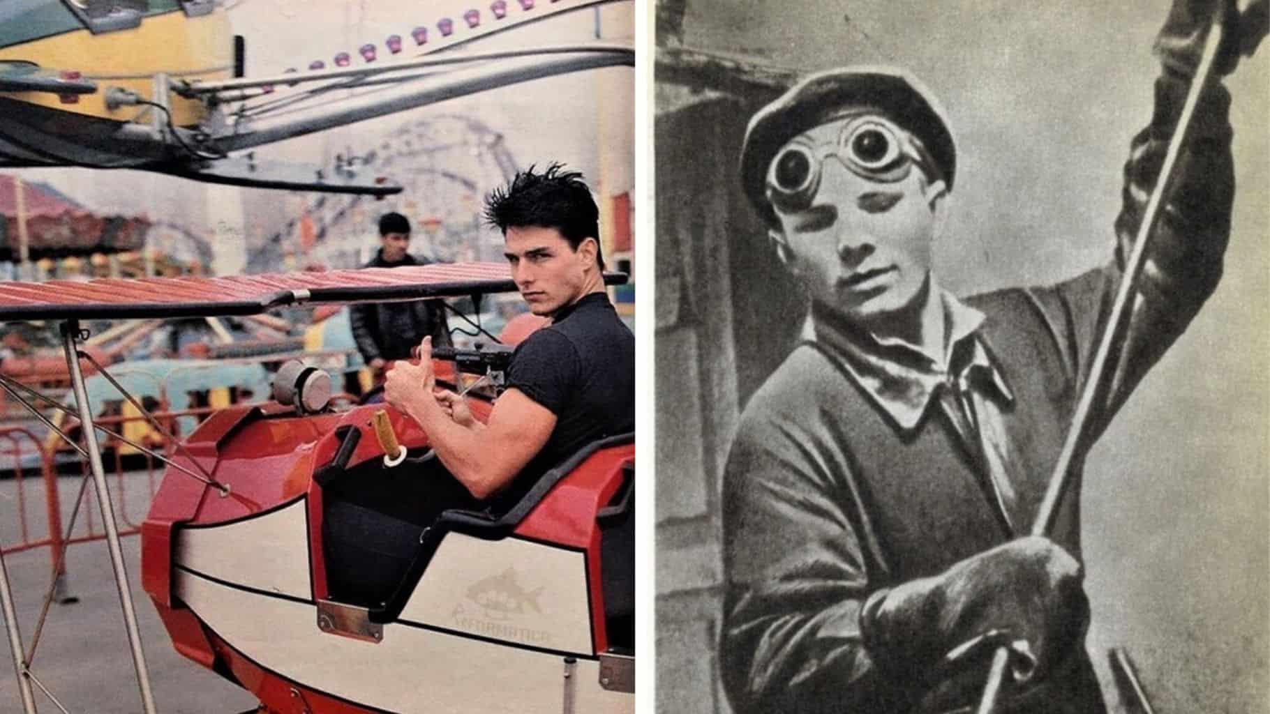 Том Круз на каруселях, а Гагарин в литейном цеху в нашей подборке ретро фотографий