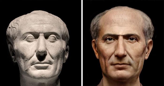 Ожившая история: вот как выглядели знаменитости и герои античного мира!