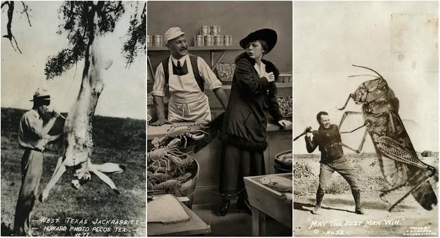 Фотоманипуляции до наступления эры фотошопа: как развлекались люди в начале ХХ века